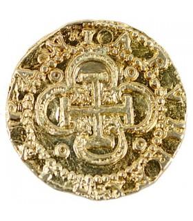 Moneta 2 Escudos oro, 3 cm.