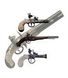 Pistole a pietra focaia